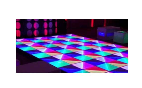 verhuur verlichte dansvloer 1