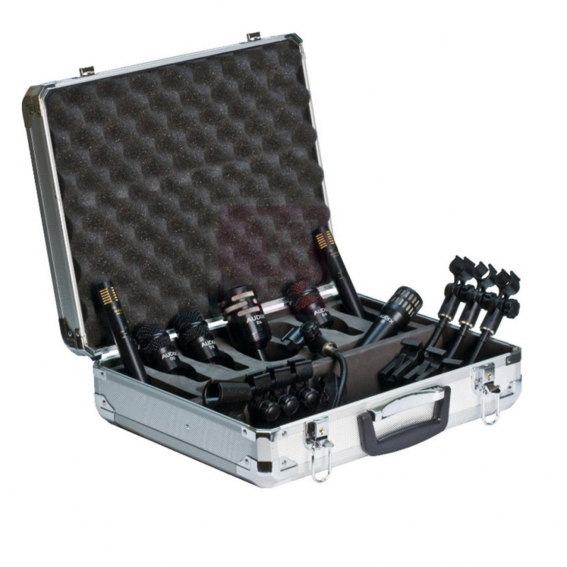 Verhuur Audix DP7 drumkit 7 x microfoons