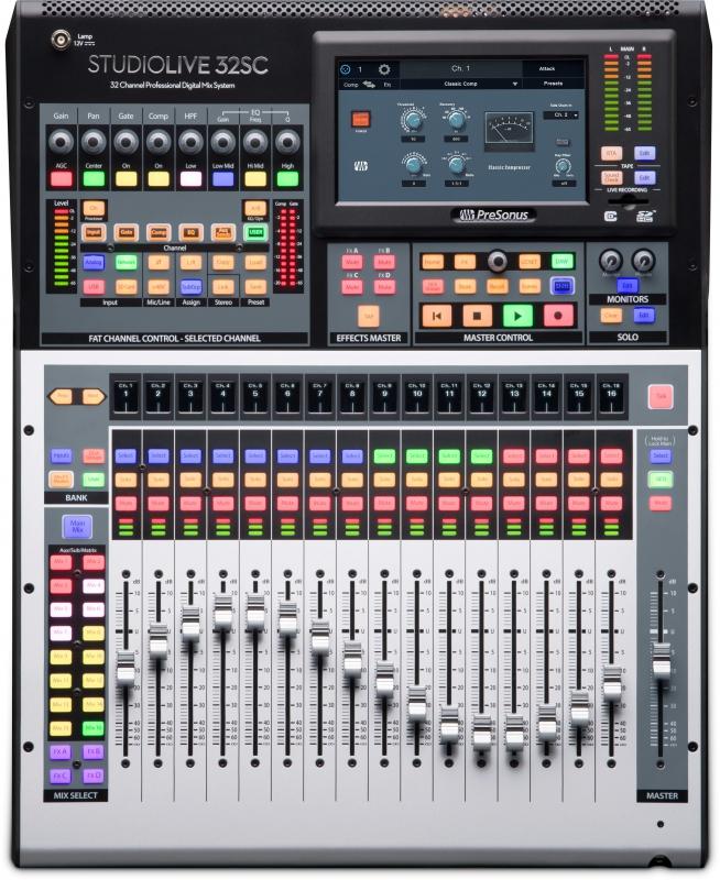 verhuur StudioLive 32SC mixer